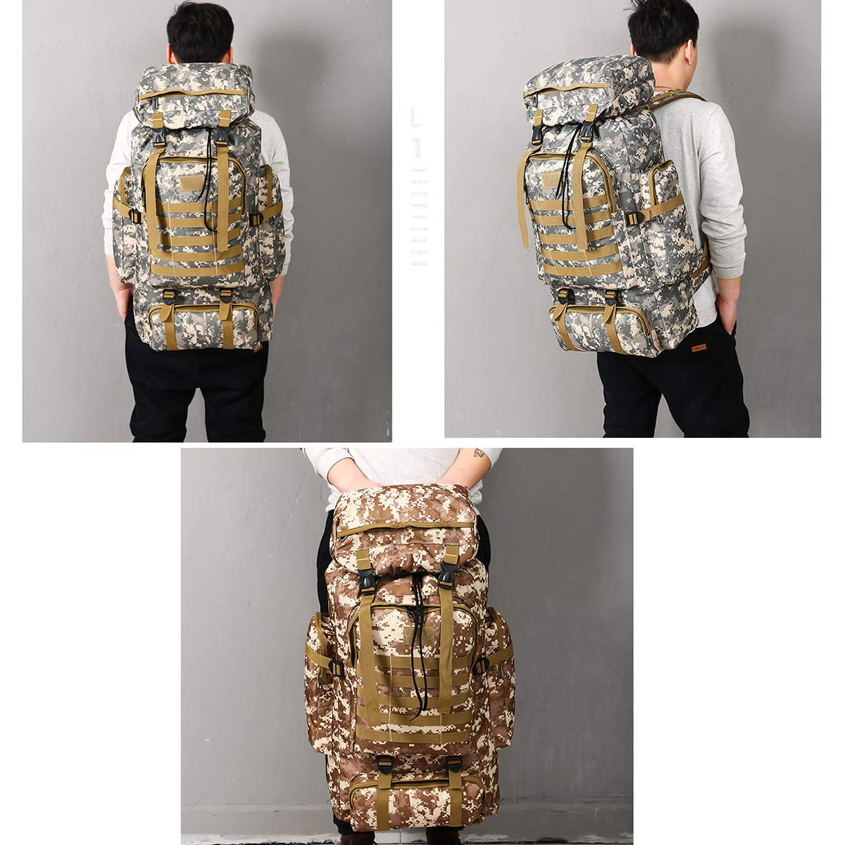 Wear resistant Tactical Military Backpack