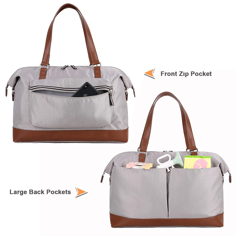 Large Capacity Diaper Bag Tote