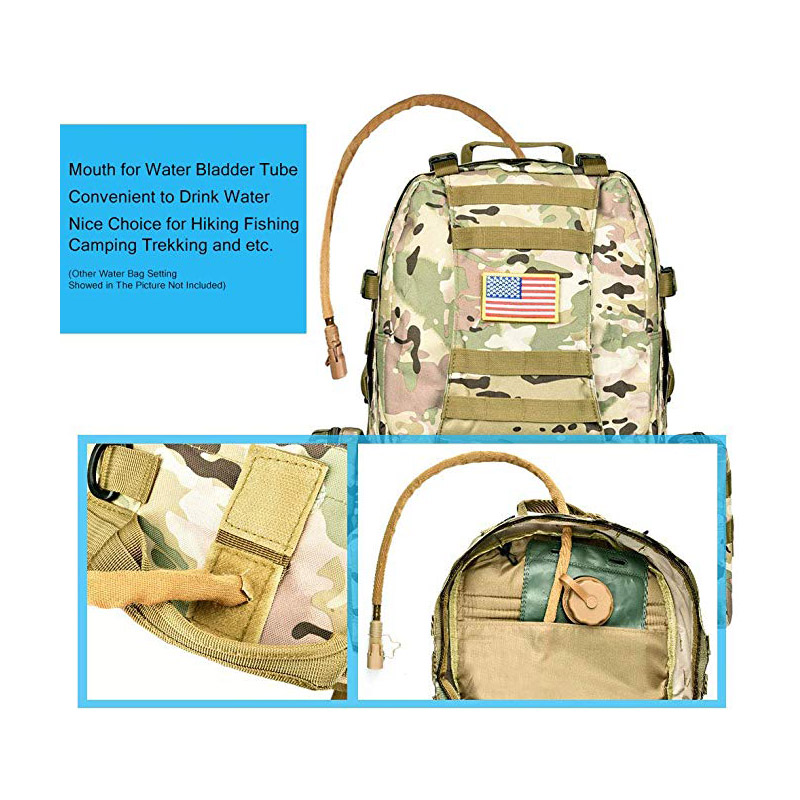 Molle System of Military Backpack