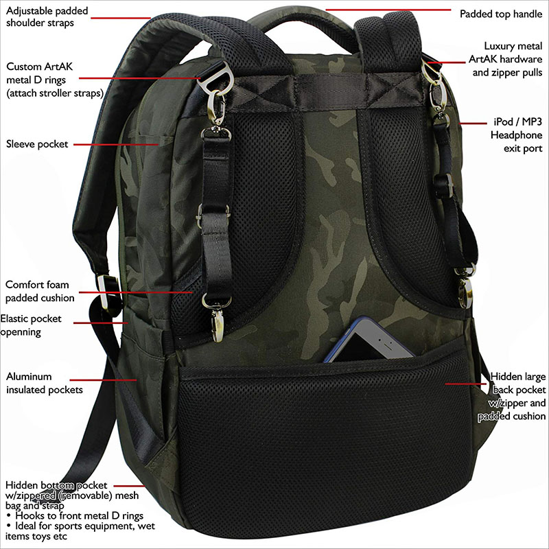 Large Capacity Tactical Bag