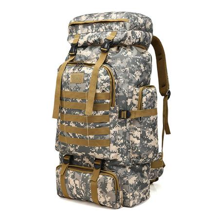 Tactical Military 70L Large Camping Hiking Backpack