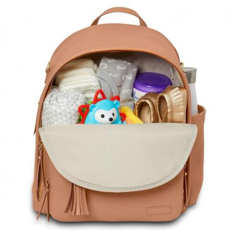 Leather Baby Diaper Bag