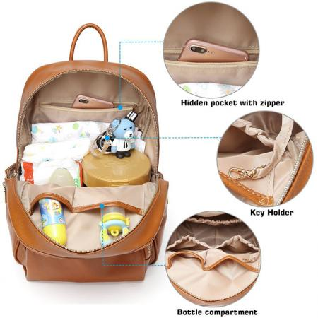 Stylish and Durable Diaper Bag