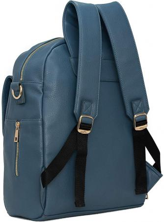 Leather Diaper Backpack for Moms