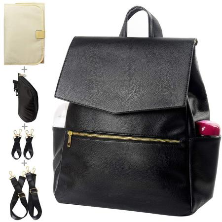 Diaper Luxury Leather Backpack