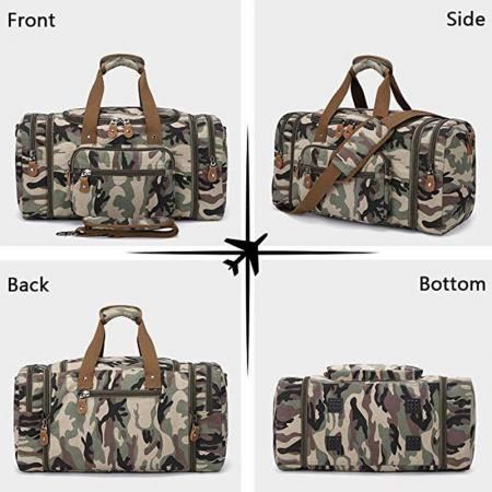 Men Foldable Travel Duffel Bag